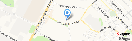 Ставрополь-Сервис-Школа на карте Ставрополя