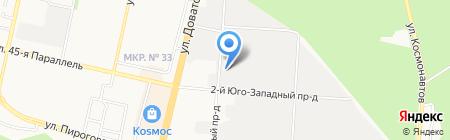Master на карте Ставрополя