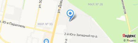 Sakura на карте Ставрополя