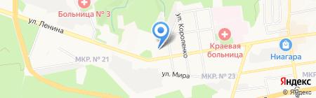 Динамо-Виктор на карте Ставрополя