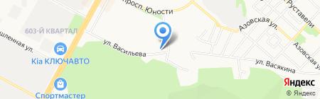 Оазис юг на карте Ставрополя