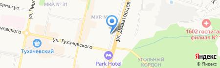 Корпоративный адвокат на карте Ставрополя
