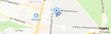 Сигнал ПАО на карте Ставрополя