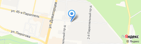 Дитас на карте Ставрополя