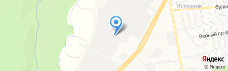 Крайавтомост на карте Ставрополя
