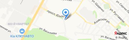 ЛуРус-Маркет на карте Ставрополя