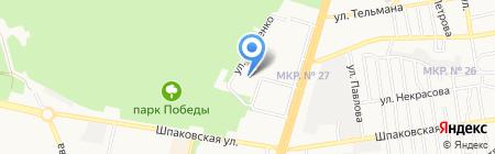 ЮТАМЕДФАРМ на карте Ставрополя