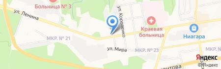 ЯПОНСКОЕ ЗДОРОВЬЕ на карте Ставрополя