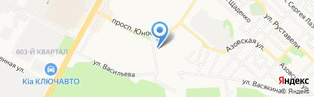 Киоск по изготовлению ключей и ремонту обуви на карте Ставрополя
