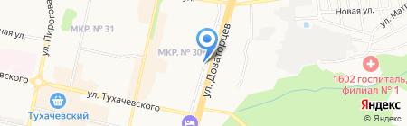 Птиц Торг на карте Ставрополя