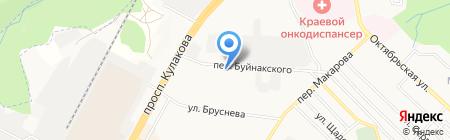 Цветы юга России на карте Ставрополя