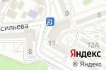 Схема проезда до компании Винный мир в Ставрополе