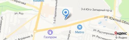 Двери Люкс на карте Ставрополя