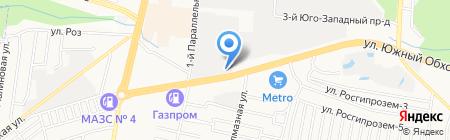 Добрый КиТ на карте Ставрополя