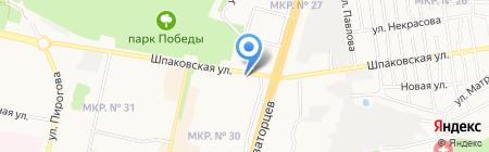 Русский хлеб на карте Ставрополя
