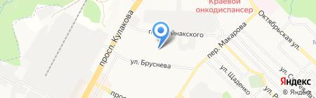 LAKME на карте Ставрополя