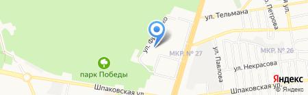 Боги Климата на карте Ставрополя
