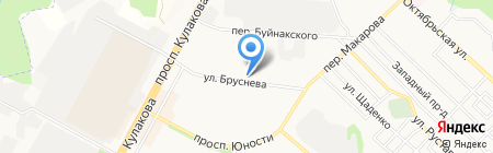 Северный на карте Ставрополя