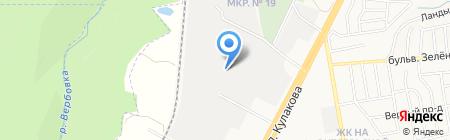 СтавГазСервис на карте Ставрополя