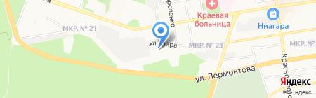 Кабинет эстетической красоты Белан Елены на карте Ставрополя