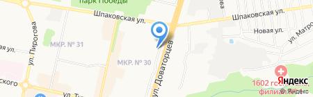 Эксклюзив карнизоff на карте Ставрополя