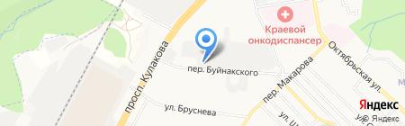 Студия живой мебели на карте Ставрополя