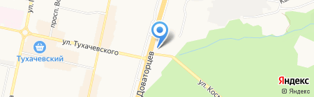 Patio Verona на карте Ставрополя