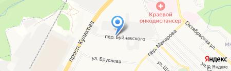 Магазин пиротехники на карте Ставрополя