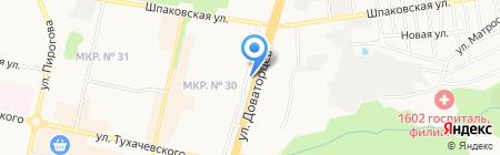 Центр Света на карте Ставрополя