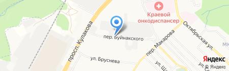 ТЕПЛОКРАФТ-СЕРВИС на карте Ставрополя
