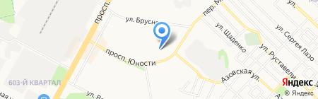 Авирго на карте Ставрополя