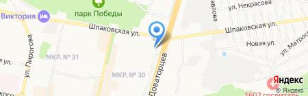 FRANCE LINE на карте Ставрополя
