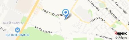 Сигма-М на карте Ставрополя