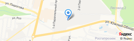 Бизон-САШ на карте Ставрополя