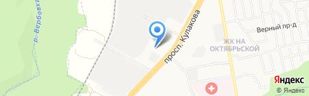 Русская баня на карте Ставрополя