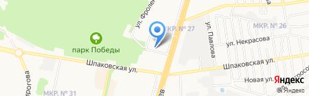 Отдел лицензионно-разрешительной работы Управления МВД РФ на карте Ставрополя