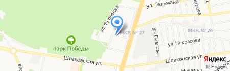 Постелькино на карте Ставрополя