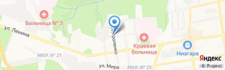 Министерство дорожного хозяйства и транспорта Ставропольского края на карте Ставрополя