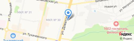 КИТФинанс на карте Ставрополя