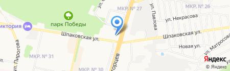 Военный следственный отдел по Ставропольскому гарнизону на карте Ставрополя