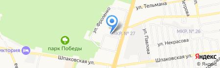 ТАМАДА на карте Ставрополя