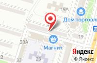 Схема проезда до компании Регион-Контракт в Ставрополе