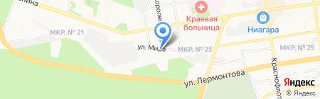 Арбитражный суд Ставропольского края на карте Ставрополя
