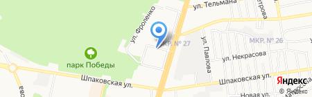 Интерьер на карте Ставрополя