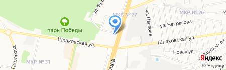 Всероссийский банк развития регионов на карте Ставрополя
