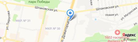Колизей на карте Ставрополя