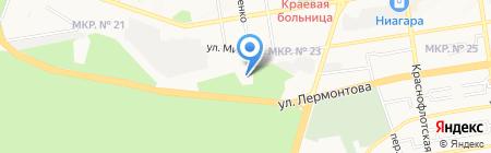 Лицей №16 на карте Ставрополя