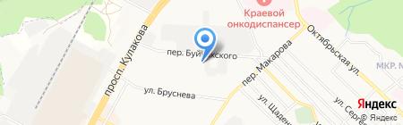 ФОРМУЛА БЕЗОПАСНОСТИ на карте Ставрополя