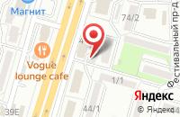 Схема проезда до компании Гранд Медиа в Ставрополе