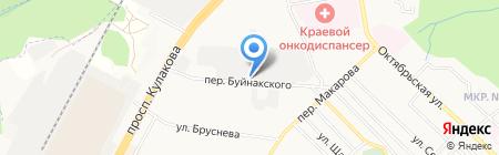 Север Лес на карте Ставрополя